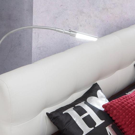FORTE,LED Leselampe Einheitsgröße weiß Leselampen Lampen Leuchten