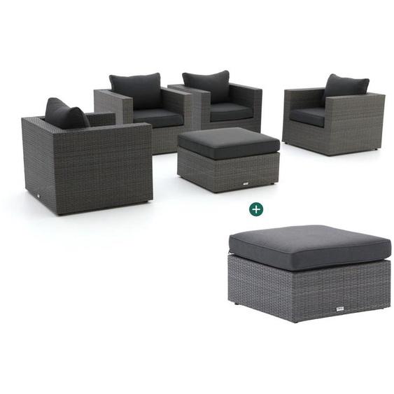 Forza Barolo Sessel Lounge-Set 5-teilig