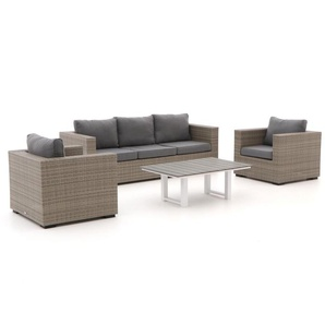 Forza Giotto/Bolano Sessel-Sofa Lounge-Set 4-teilig