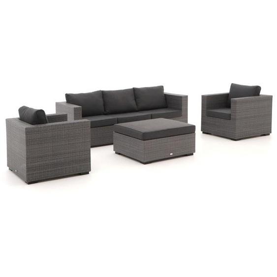 Forza Giotto Sessel-Sofa Lounge-Set 4-teilig