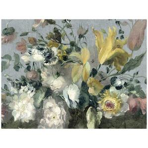 Fototapete , Mehrfarbig , Papier , Floral , 280x372 cm , Fsc, Bsci, Made in Europe , Tapeten Shop, Fototapeten