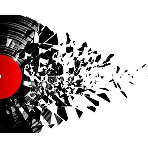 Fototapete Smashed Vinyl 2,4 m x 300 cm