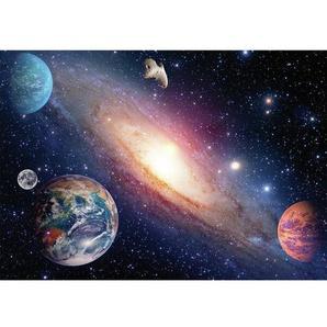 Fototapete Sonnensystem 1845 cm x 50 cm 5-tlg.