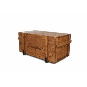 Frachtkiste aus Massivholz