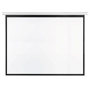 FRANKEN elektrische Rolloleinwand 300 x 225 cm Projektionsfläche