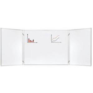 FRANKEN Klapptafel 90,0 x 60,0 cm weiß