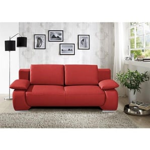 schlafsofas in rot preise qualit t vergleichen m bel 24. Black Bedroom Furniture Sets. Home Design Ideas
