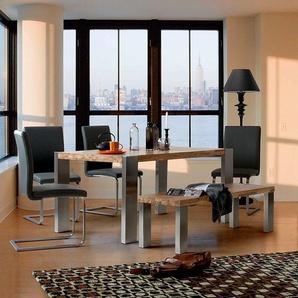 st hle aus echtleder preise qualit t vergleichen m bel 24. Black Bedroom Furniture Sets. Home Design Ideas