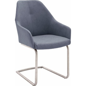 Freischwinger, blau, Schwinger, zeitloses Design, , , MCA furniture