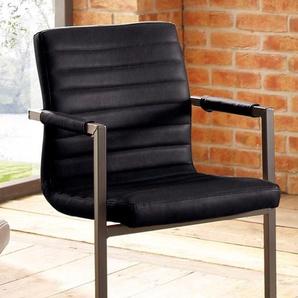 Premium collection by Home affaire Freischwinger »Parzival«, schwarz, 2er Set