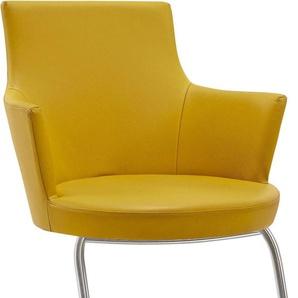 Freischwinger-Stuhl , gelb, »picasa Marta«, VENJAKOB