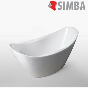Freistehende Badewanne Modernes Innovatives Design 172x72cm Wanda - SIMBA