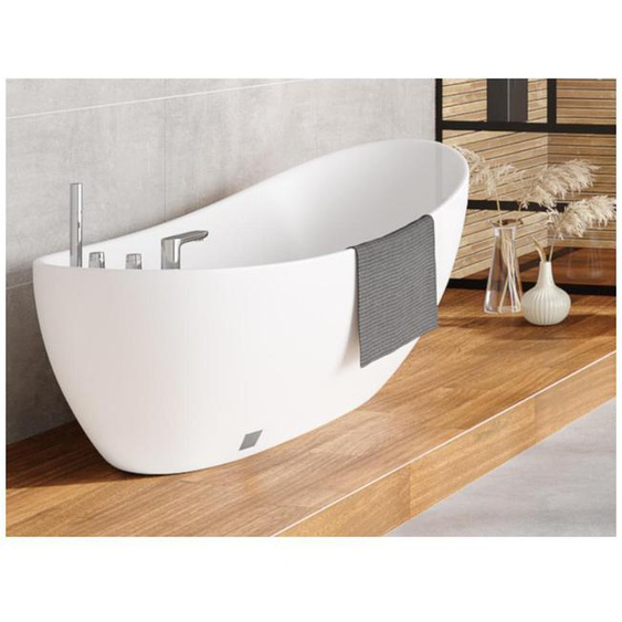 Freistehende Badewanne Natalia - 181 L - Weiß