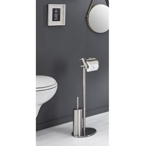 Freistehender Toilettenbürste und Halter