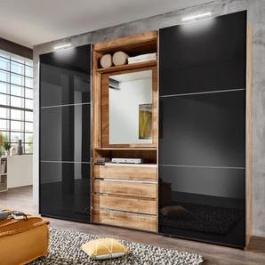 Fresh To Go  Schrank mit Schwebetüren  mit drehbarer Spiegeltür »Magic«, 300 x 236 x 65 BxHxT cm, weiß