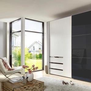 Fresh To Go  Schrank mit Schwebetüren  mit Glastür »Level«, 250 x 216 x 65 BxHxT cm, weiß