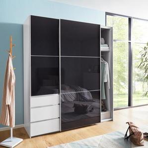 Fresh To Go  Schrank mit Schwebetüren  mit Glastüren »Level«, 250 x 216 x 65 BxHxT cm, weiß