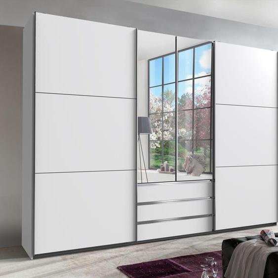 Fresh To Go Schwebetürenschrank Magic B/H/T: 300 cm x 216 65 cm, 2 weiß Schwebetürenschränke Kleiderschränke