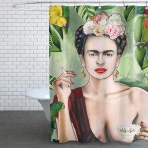 Frida Con Amigos - Duschvorhang