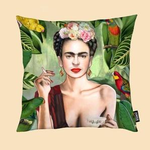 Frida Con Amigos - Kissen