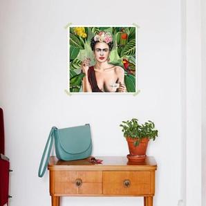 Frida Con Amigos - Premium Poster