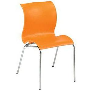 FRIWA   Besucherstuhl orange