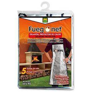 fuegonet 231457Schürze-Wärme, 21x 33x 2cm, silber