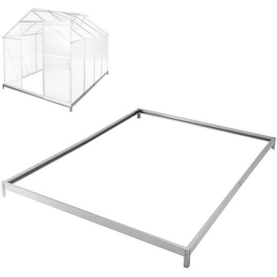 Fundament für Gewächshaus - 250 x 190 x 12 cm