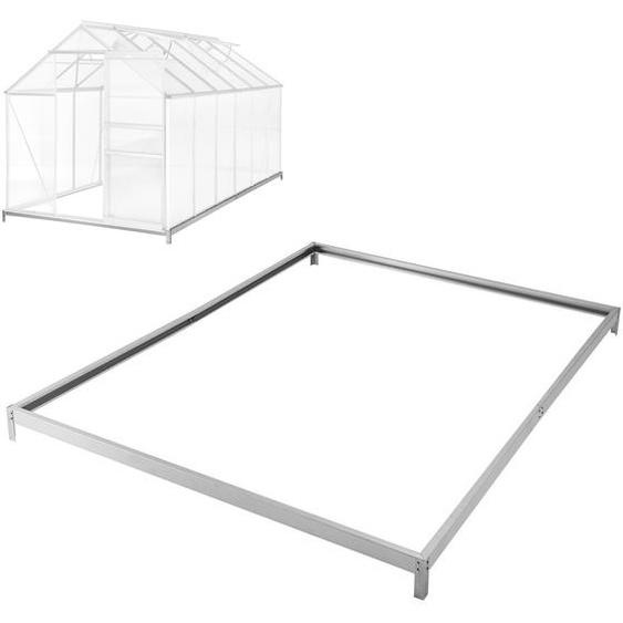 Fundament für Gewächshaus - 375 x 190 x 12 cm