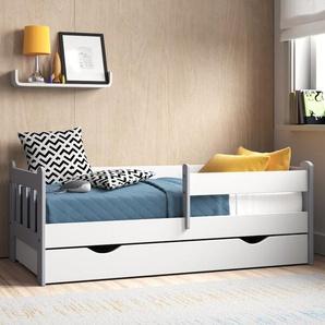 Funktionsbett Kacie mit Matratze und Schublade
