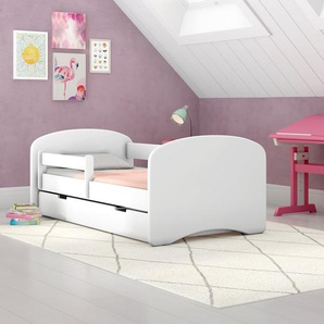 kinderbetten in weiss preisvergleich moebel 24. Black Bedroom Furniture Sets. Home Design Ideas