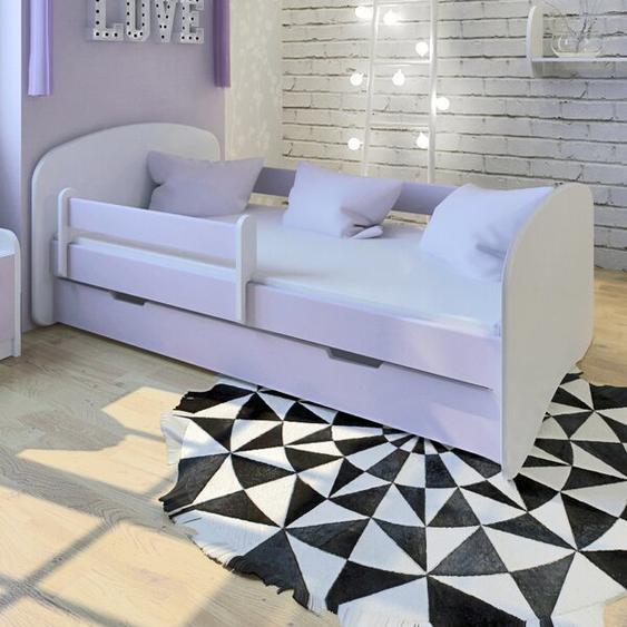 Funktionsbett mit Matratze und Schublade