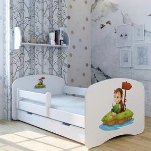 Funktionsbett Tom der Affe mit Matratze und Schublade
