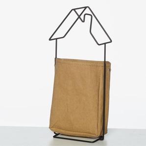 Furniteam | Wandregal Haus mit Papiertüte
