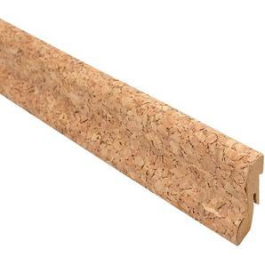 Fußleiste 240 x 4 x 2 cm Kork Creme furniert