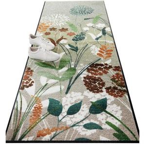 Fußmatte, rechteckig, 7 mm Höhe B/L: 60 cm x 85 cm, 1 St. grün Fußmatte Fußmatten SOFORT LIEFEERBAR Diele Flur