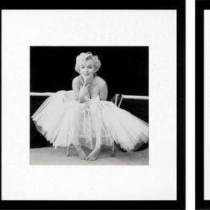 G&C Bild »Marilyn Monroe Bilderset«, (Set), 3 Motive à 40/40 cm, gerahmt