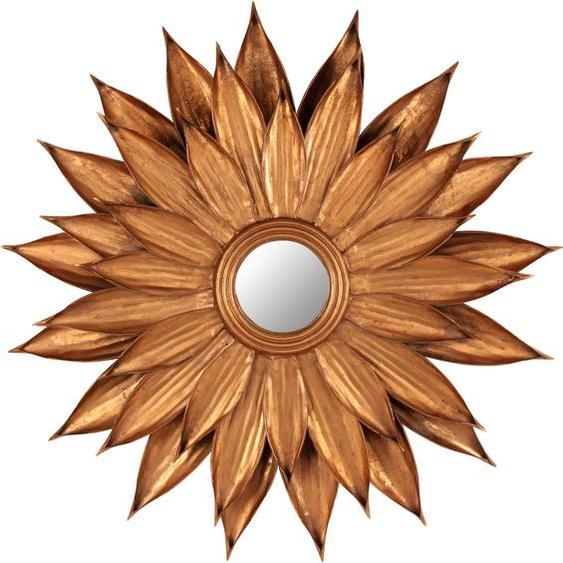 G&C Spiegel B/H/T: 87 cm x 6 goldfarben Dekospiegel Garderoben