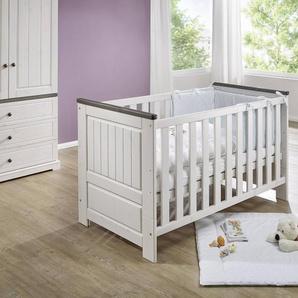 Babybett ,Weiß ,Holz
