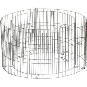 Gabionen-Hochbeet rund Ø 58 cm x H 30 cm