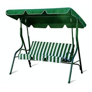 Galileo Casa Schaukelstuhl, 3 Sitzplätze, Hellgrün Weiß
