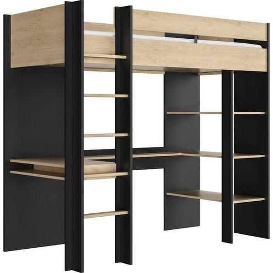 Gami Etagenbett »DUPLEX«, mit integriertem Schreibtisch