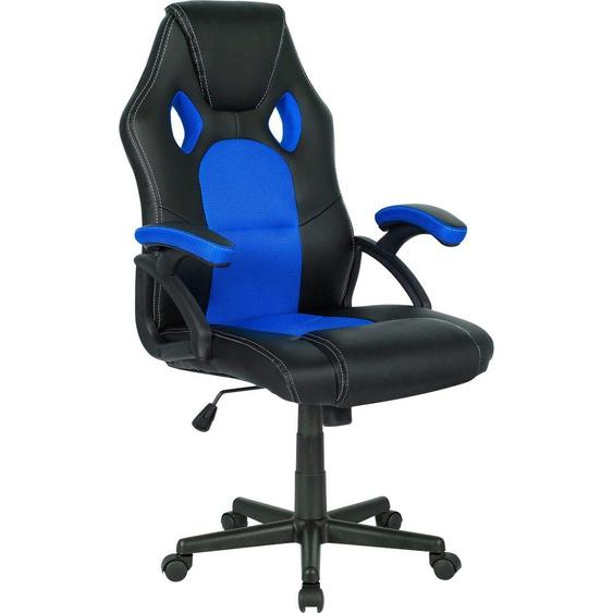 Gaming Chair drehbar, 68x106x53 cm (BxHxT), SalesFever, Material Kunstleder, Polyurethan, Kunststoff