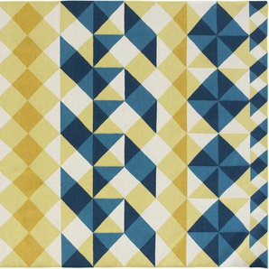 Gan - Mosaiek Teppich – 200 x 300 cm – gelb - indoor
