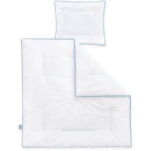 Ganzjahresbettdecke + Kopfkissen, »Hygienika«, Zöllner, Kindersteppbett, Material Füllung: Polyester