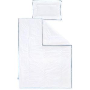 Ganzjahresbettdecke + Kopfkissen, »Hygienika«, Zöllner, Kindersteppbett, Material Füllung: Polyester, (Set)