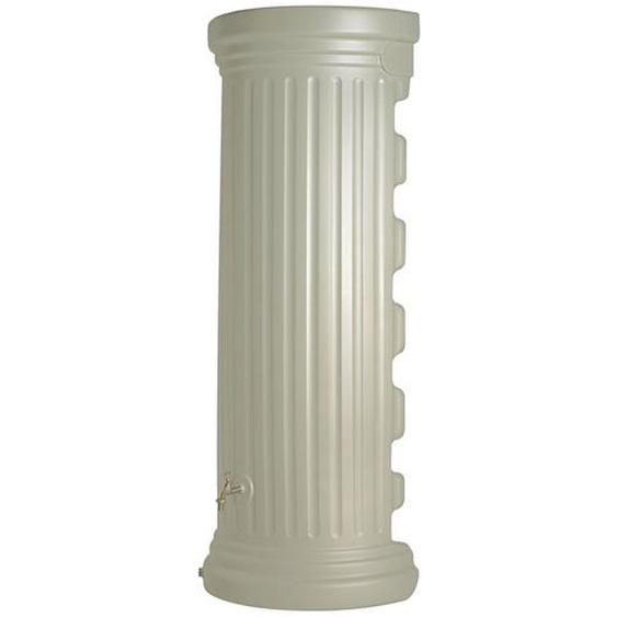 Garantia Regenwasser-Säulen-Wandtank 550 l Sandbeige