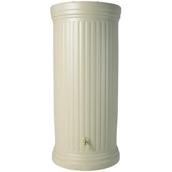 Garantia Regenwasser-Säulentank 2.000 l Sandbeige