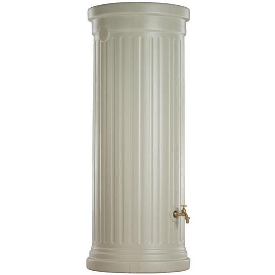 Garantia Regenwasser-Säulentank 500 l Sandbeige