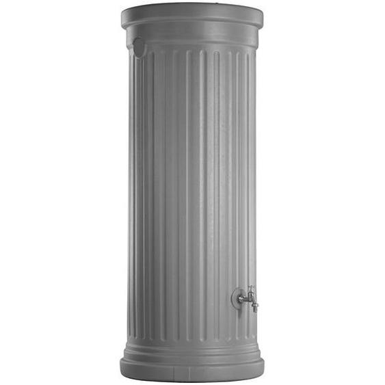 Garantia Regenwasser-Säulentank 500 l Steingrau